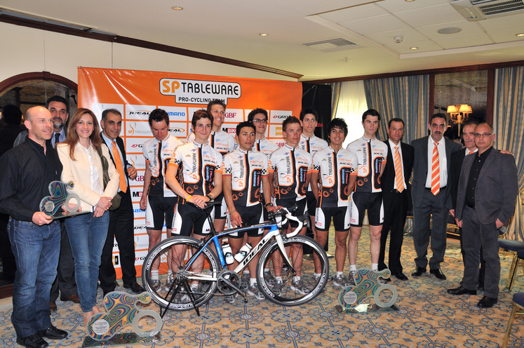 2010 presentation for Continental Cycling Team SP TABLEWARE