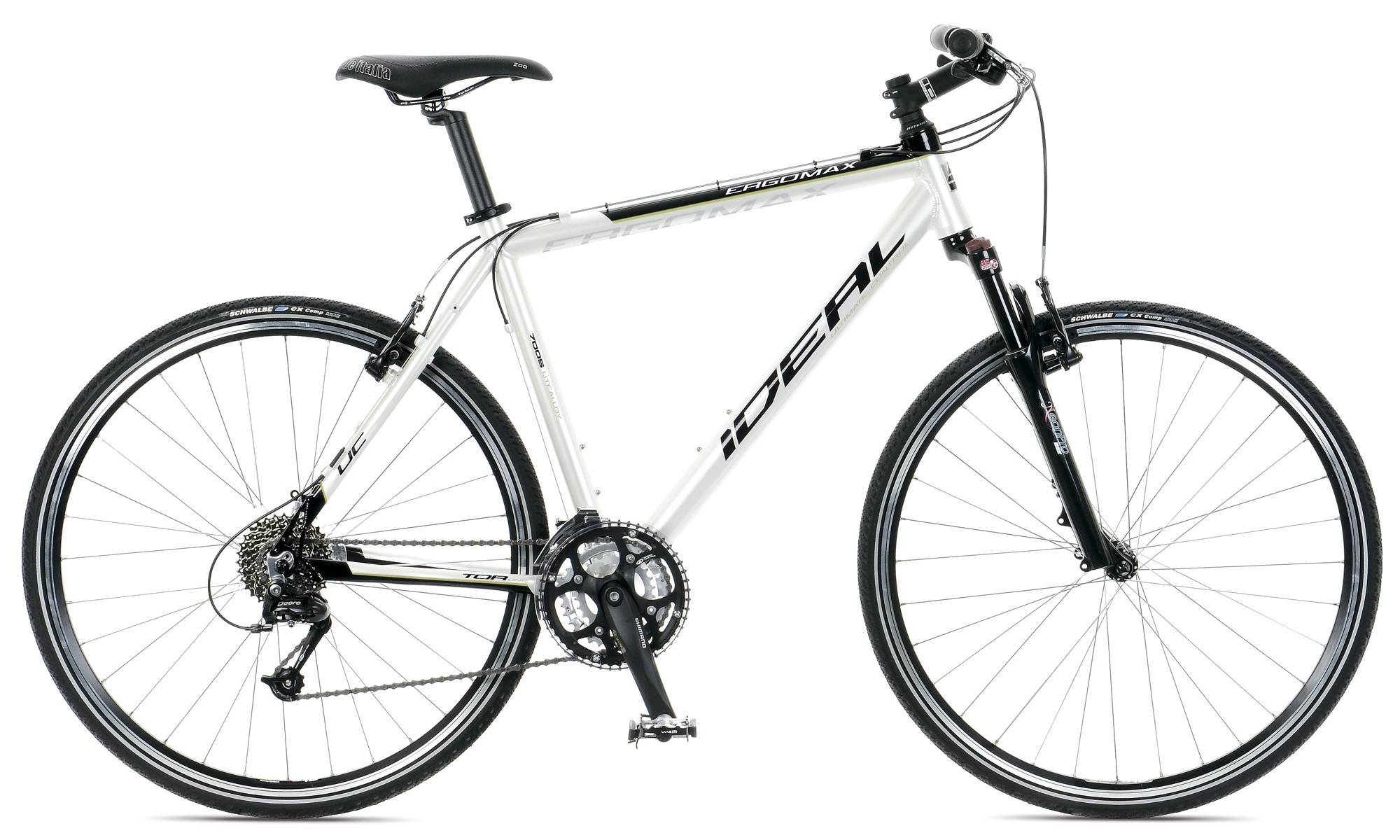 ergomax trekking cross ideal bikes. Black Bedroom Furniture Sets. Home Design Ideas