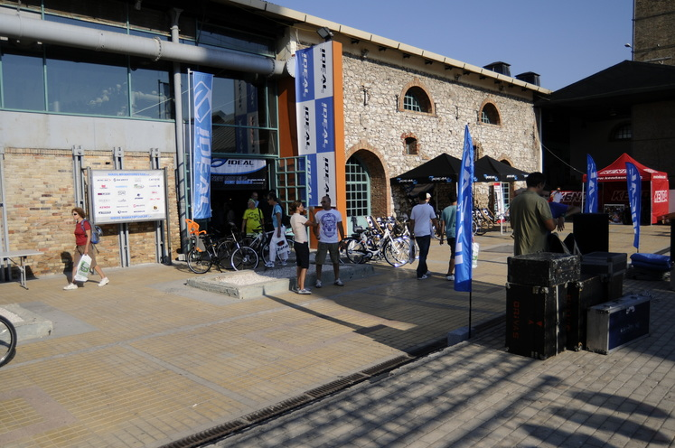 Photostory: The presentation of IDEAL Bikes range 2011 in the BIKE and RUN Festival 2010